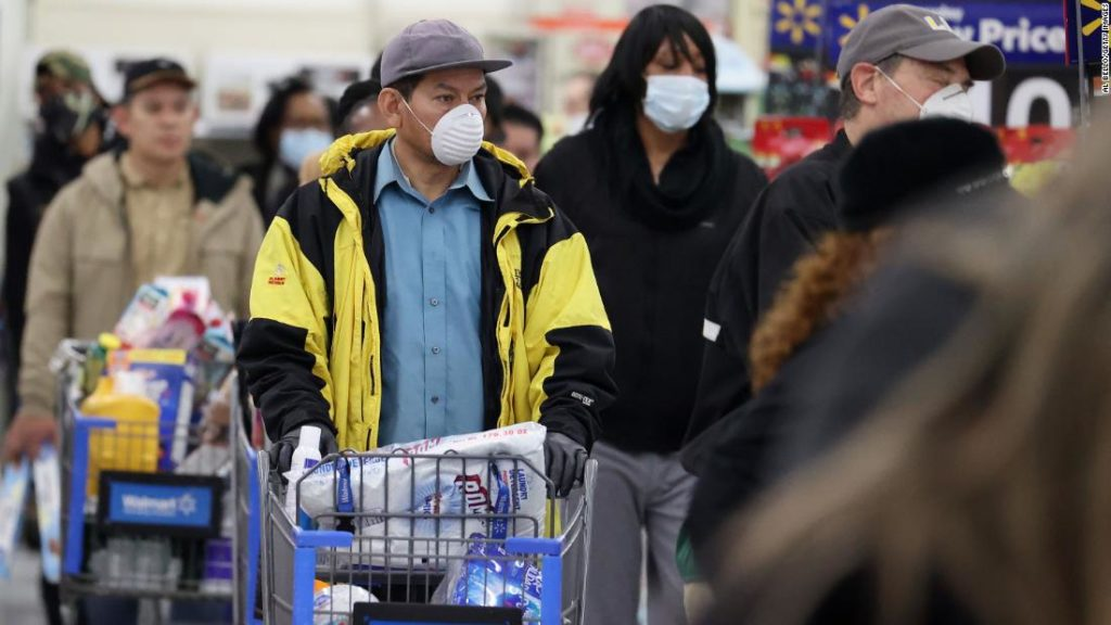 Walmart will start counting customers again as coronavirus cases reach record levels