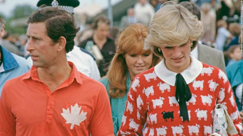 Princess Diana's famous 'black sheep' jumper