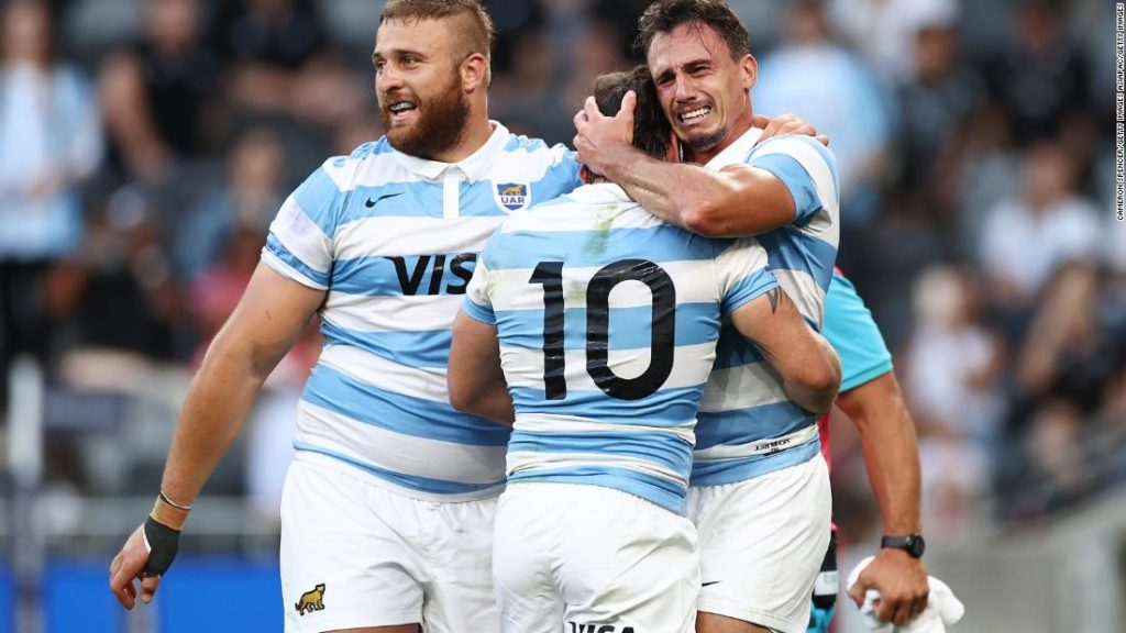 New Zealand suffers shock loss to Argentina in Rugby Championship