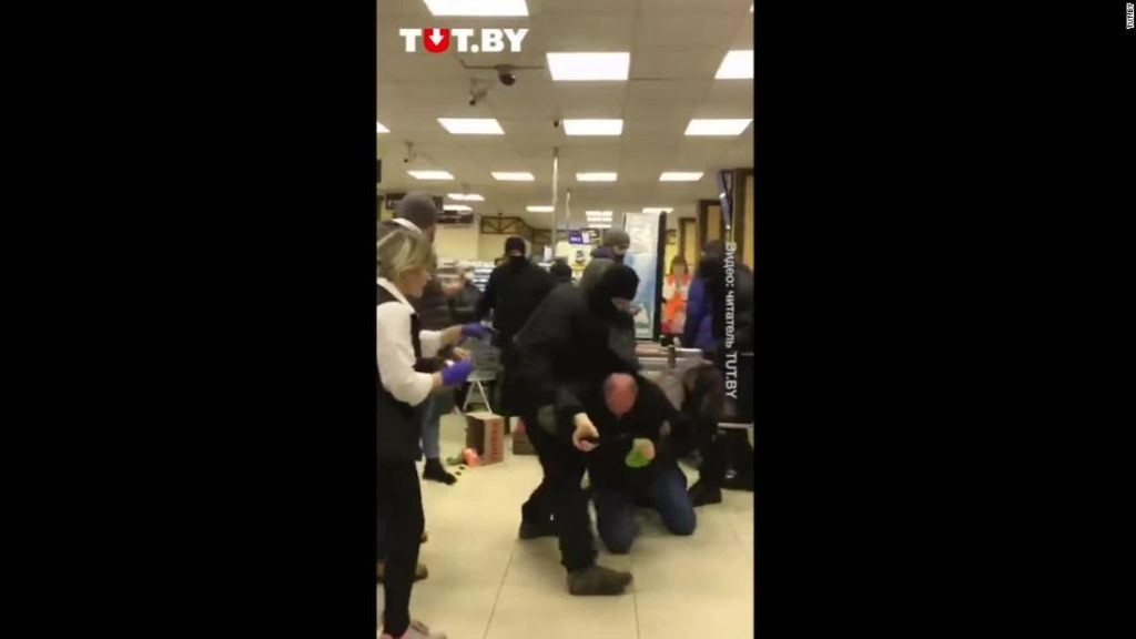 Shocking footage emerges from Belarus protests as at least 1,000 arrested