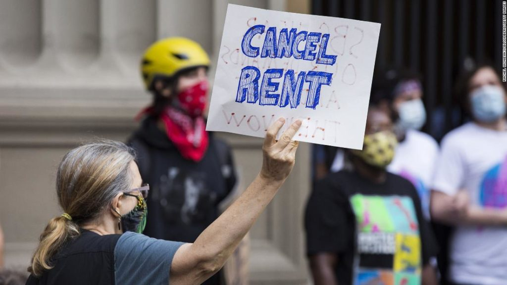 A 'huge wave of evictions' is possible in January