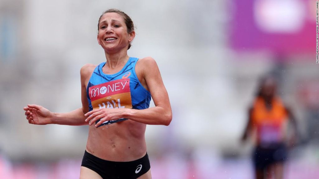 At 37, marathon runner Sara Hall is enjoying her sport more than ever