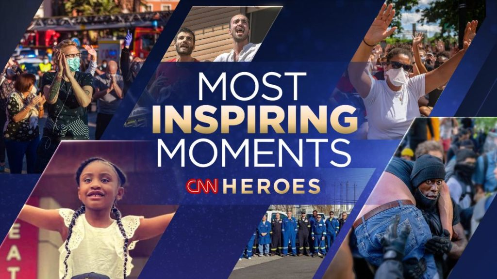These are some of this year's Most Inspiring Moments. Which one moves you most?
