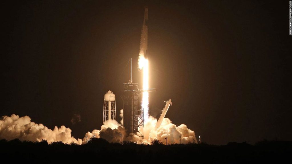 SpaceX-NASA mission: Four astronauts arrive at International Space Station