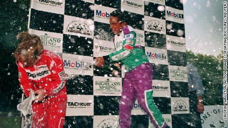 Hamilton was extremely successful as a junior in karting, and was signed for McLaren by Ron Dennis at the age of 13.