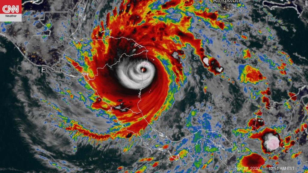 Hurricane Iota brings catastrophic winds and likely life-threatening flooding just miles from where Eta made landfall