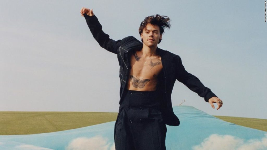 Harry Styles becomes Vogue's first-ever solo male cover star
