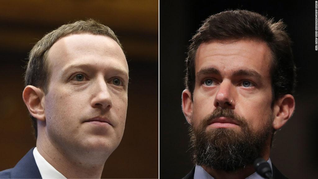 Mark Zuckerberg and Jack Dorsey testify before Senate committee: Live updates
