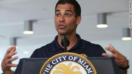 Miami Mayor Francis Suarez championed a plan to tackle the impact of the climate crisis.