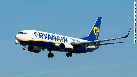 Ryanair is among the EU's biggest greenhouse gas emitters, according to EU data. The rankings include power stations, manufacturing plants and aviation.