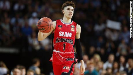 LaMelo Ball has taken a less conventional route to the NBA than most American prospects, choosing to play professionally in Lithuania and in Australia instead of attending an American college.