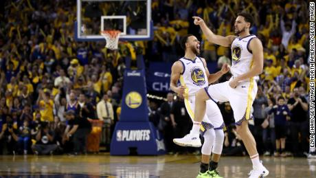 The return of Curry (left) and Thompson (right) could restore the Golden State Warriors to a strength that their second overall pick fails to suggest.