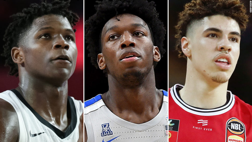 NBA Draft 2020: Who will go first overall?