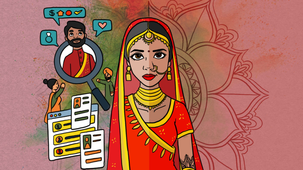 India loves an arranged marriage, but some say certain aspects are outdated