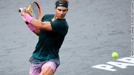 Nadal's only indoor hard court success came in Madrid over 15 years ago.