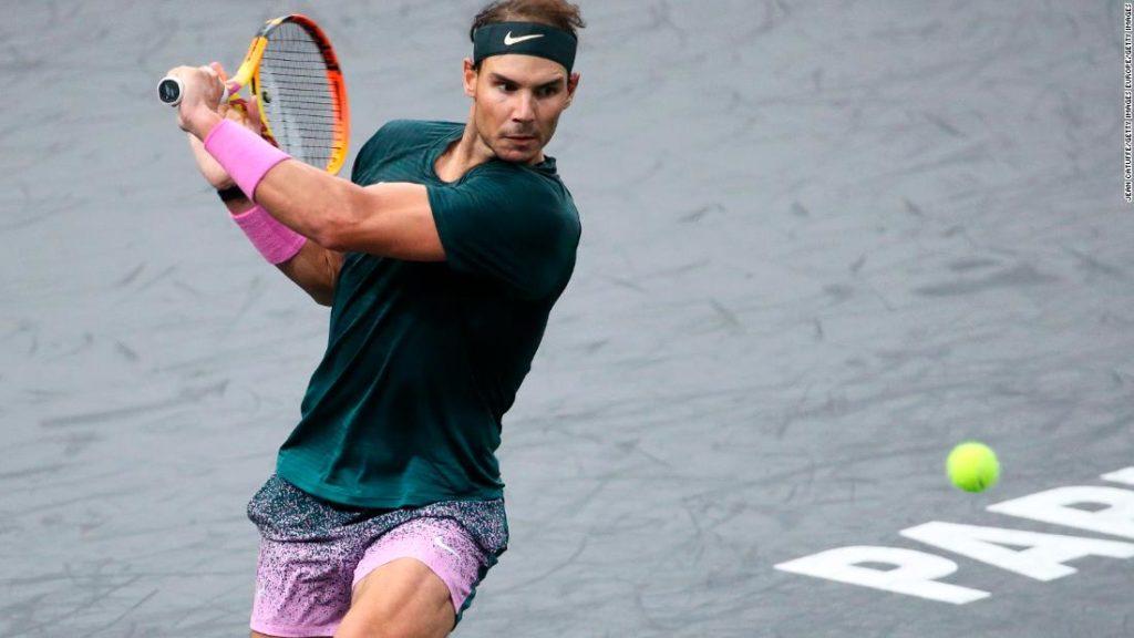 Rafa Nadal overpowered by Alexander Zverev at Paris Masters