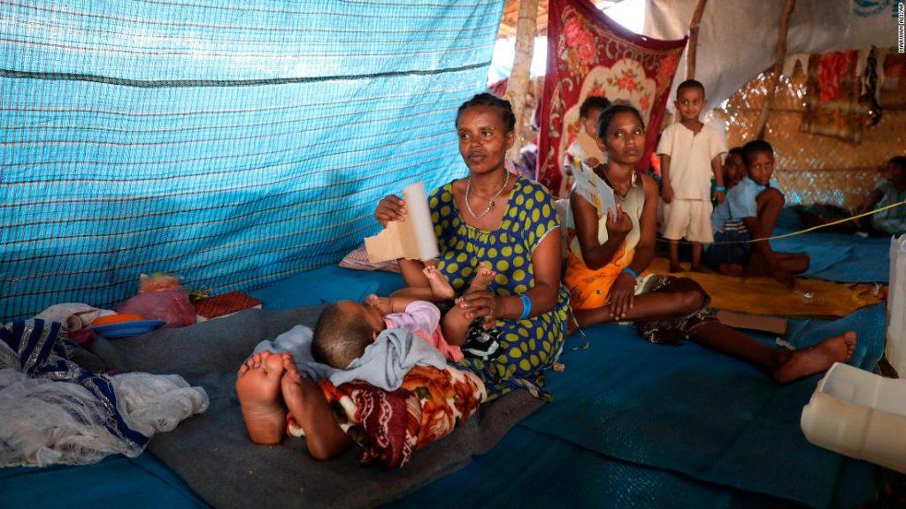 Tigray capital airstrikes leave several injured, humanitarian source says