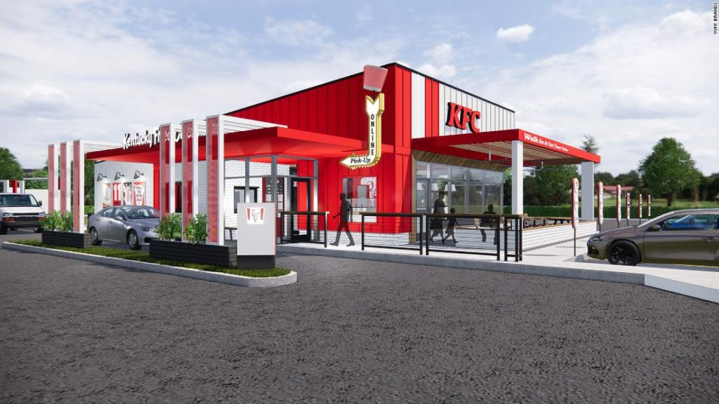 KFC is redesigning its restaurants -- here's what they will look like