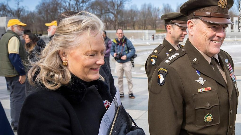 Hollyanne Milley, wife of top US general, saves vet's life who collapsed during Veterans Day ceremony