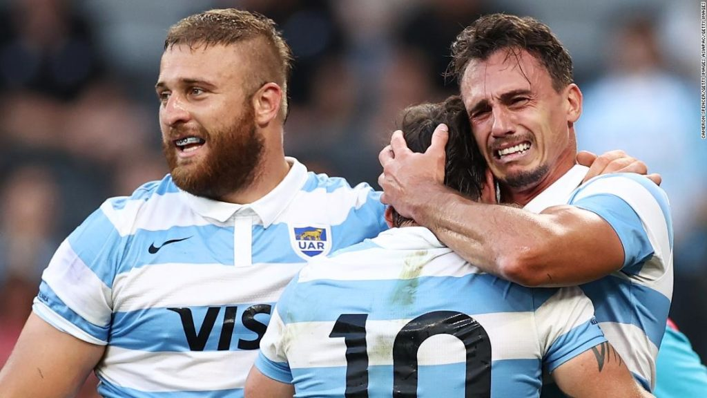 Hugo Porta: Victory over the All Blacks an 'emotional' moment for Argentina