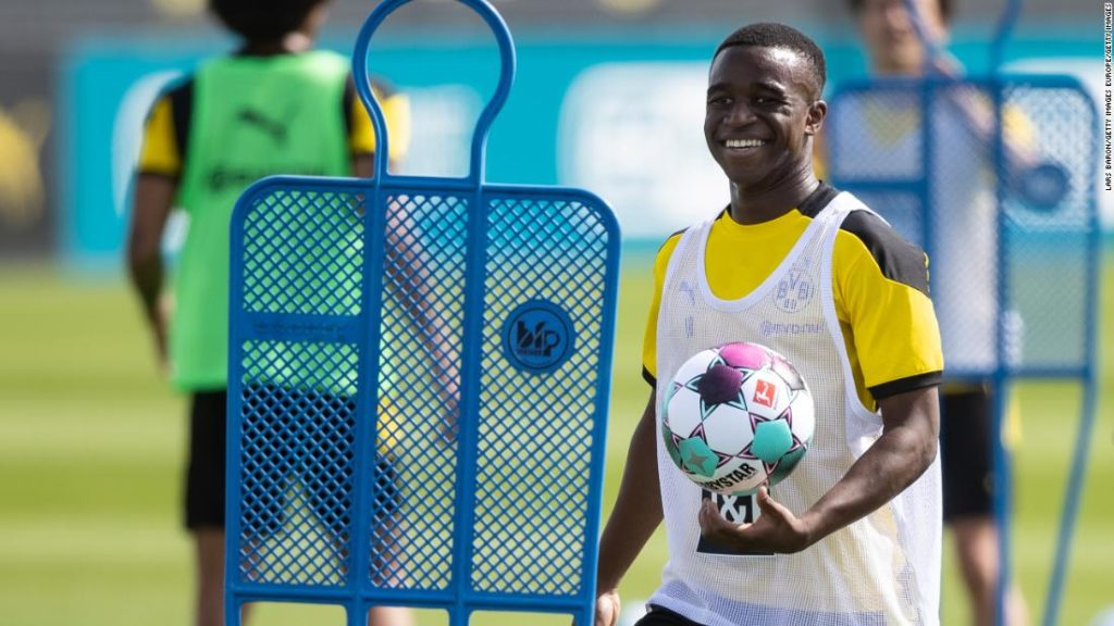 Youssoufa Moukoko: Borussia Dortmund's 16-year-old forward could become youngest player in Bundesliga history