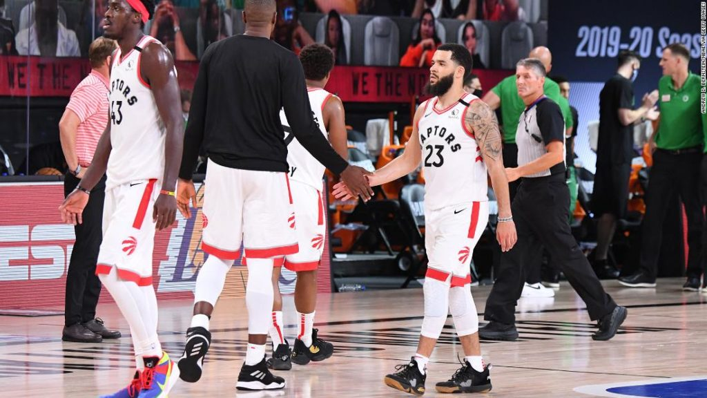 NBA's Toronto Raptors to play games in Tampa
