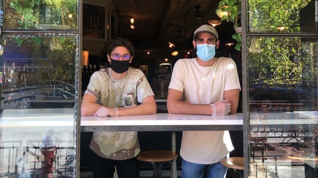 A New Jersey restaurant with a coronavirus scare stayed open because of the generosity of a neighboring barbershop