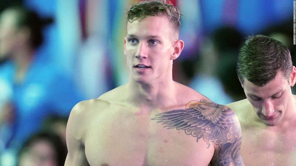 Caeleb Dressel breaks two world records at International Swimming League