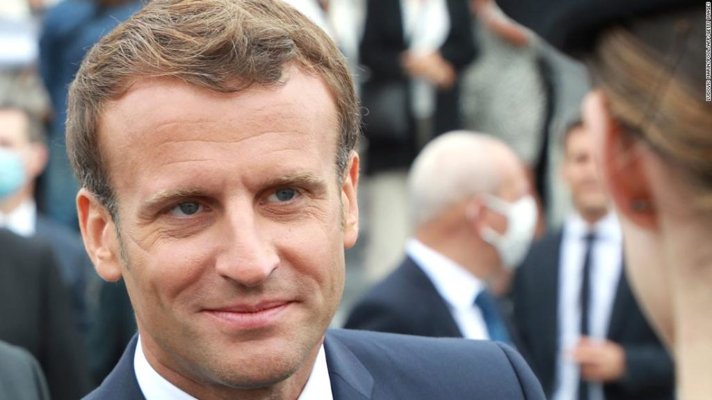 Macron follows a well-worn path of French presidents, by veering to the right