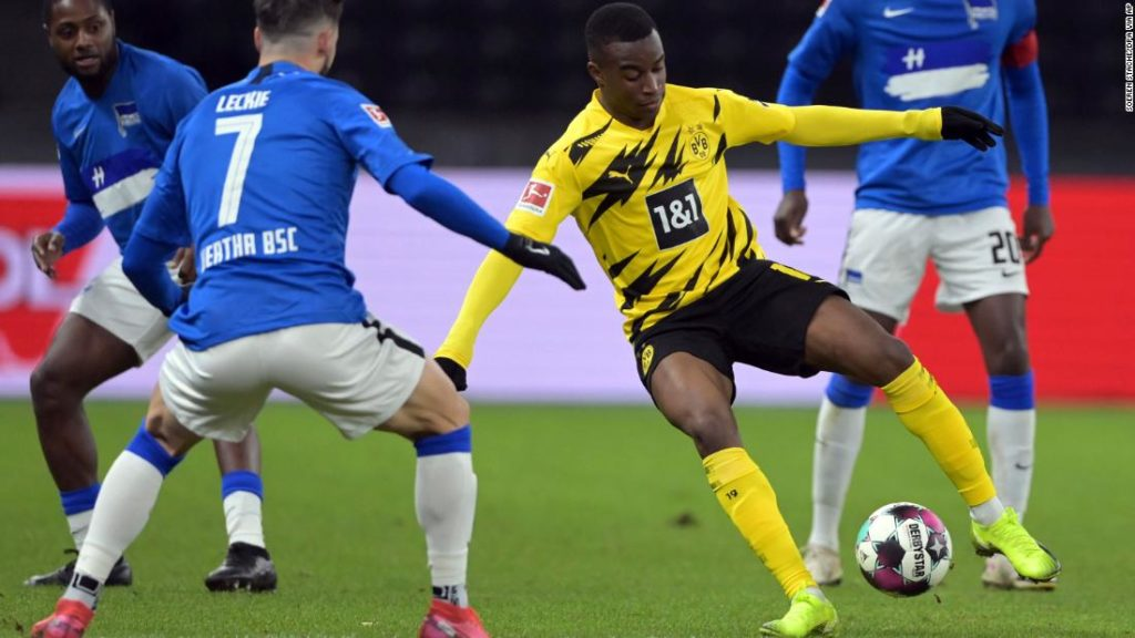 Youssoufa Moukoko becomes the Bundesliga's youngest-ever player