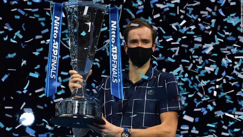 Daniil Medvedev wins ATP Finals over Dominic Thiem