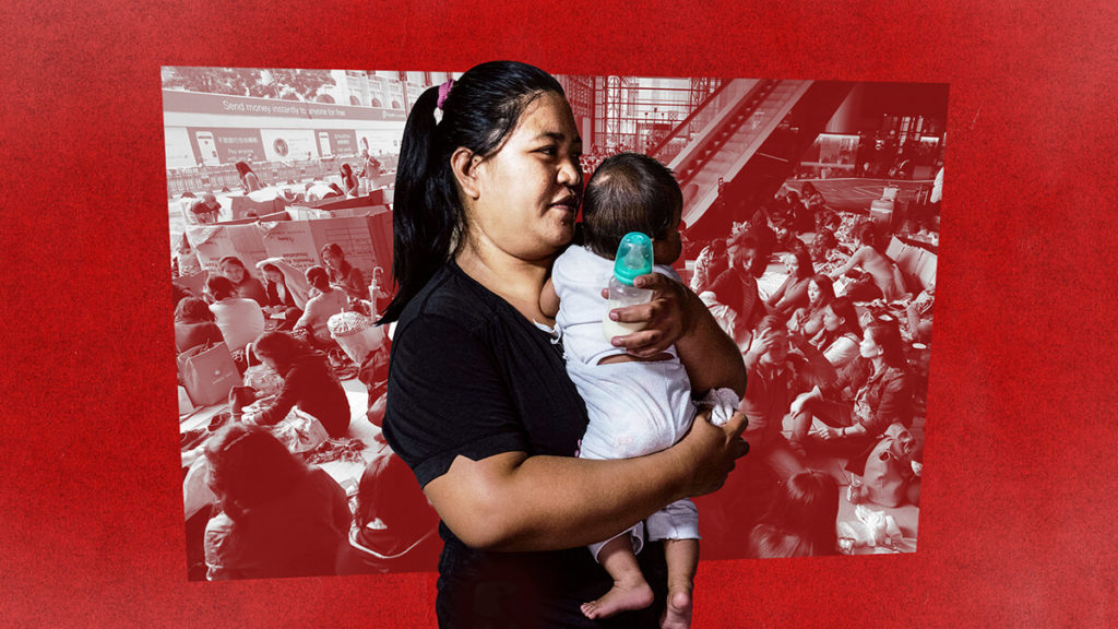 The Philippines' migrant workers, and the children left behind