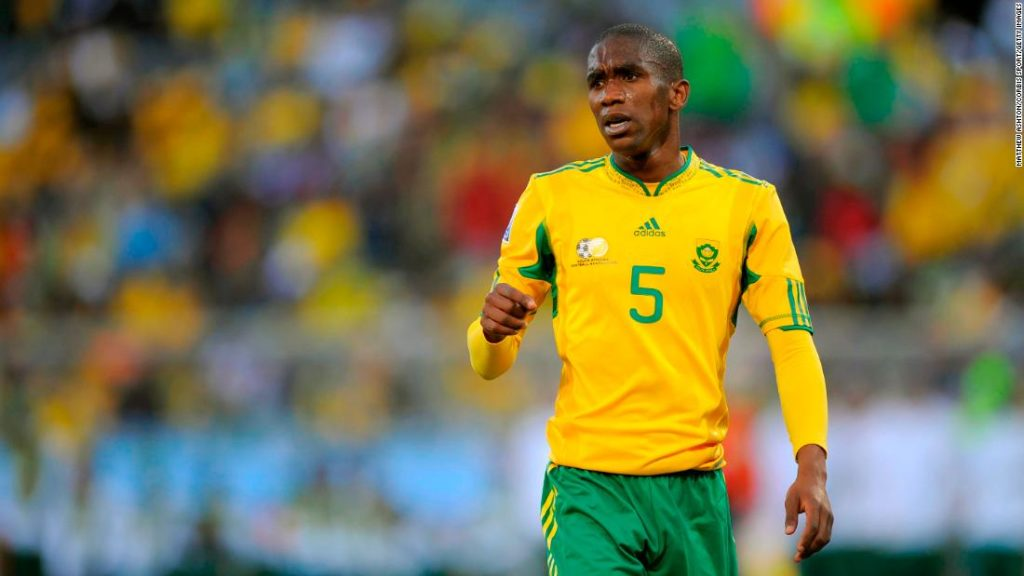 Anele Ngcongca: Former South African international dies in a car accident aged 33