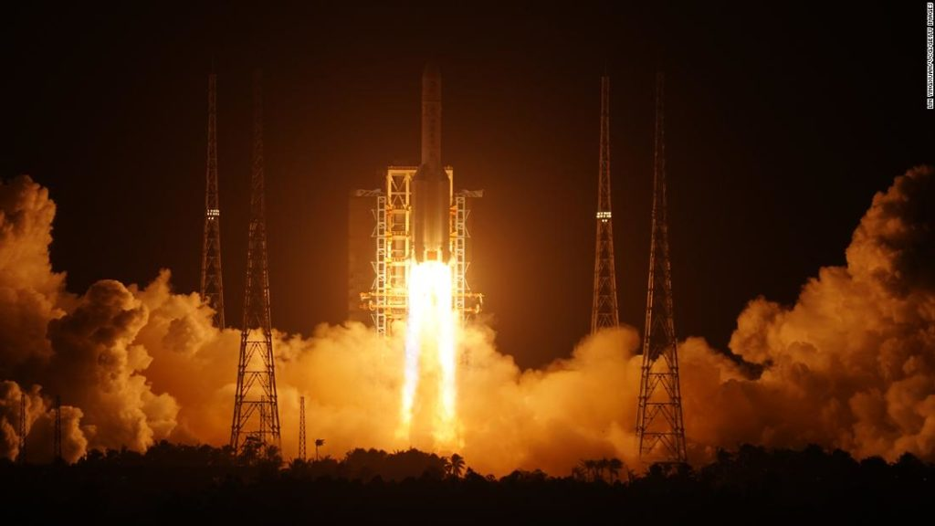 Moon mission: China's Chang'e-5 launch aims to collect lunar rocks