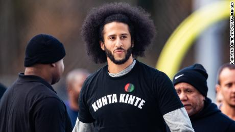 Colin Kaepernick's public workout for NFL teams took place in November 2019.
