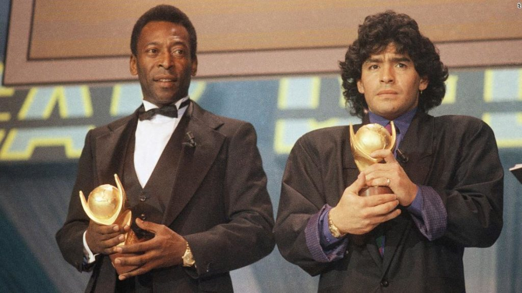 Pele's tribute to Maradona: 'We will play football together in heaven'