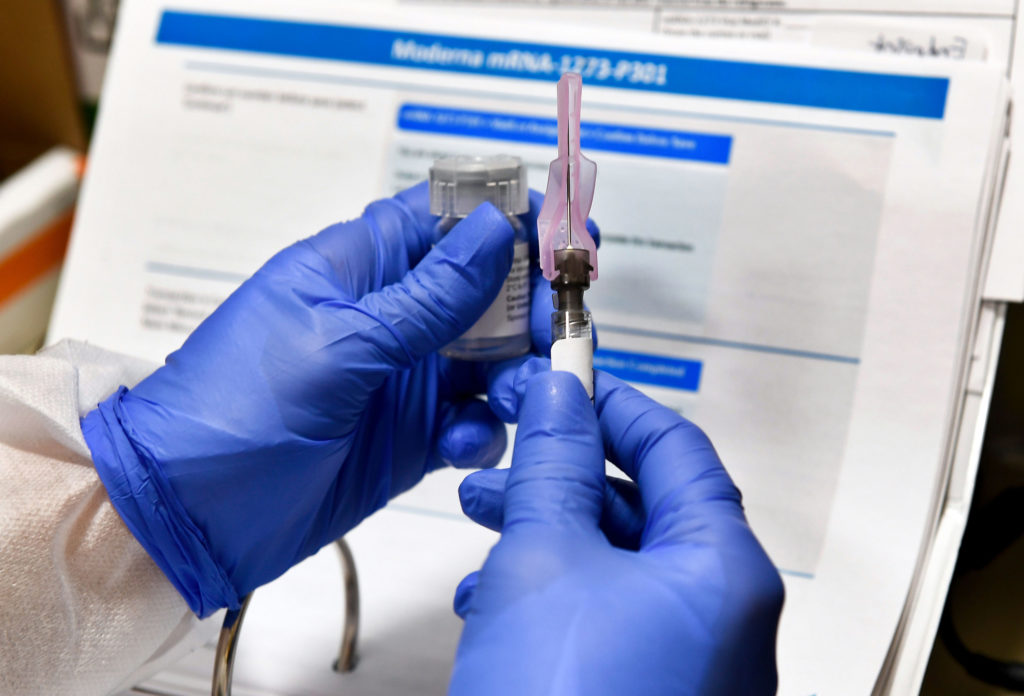 Moderna's Covid-19 vaccine was designed in just two days