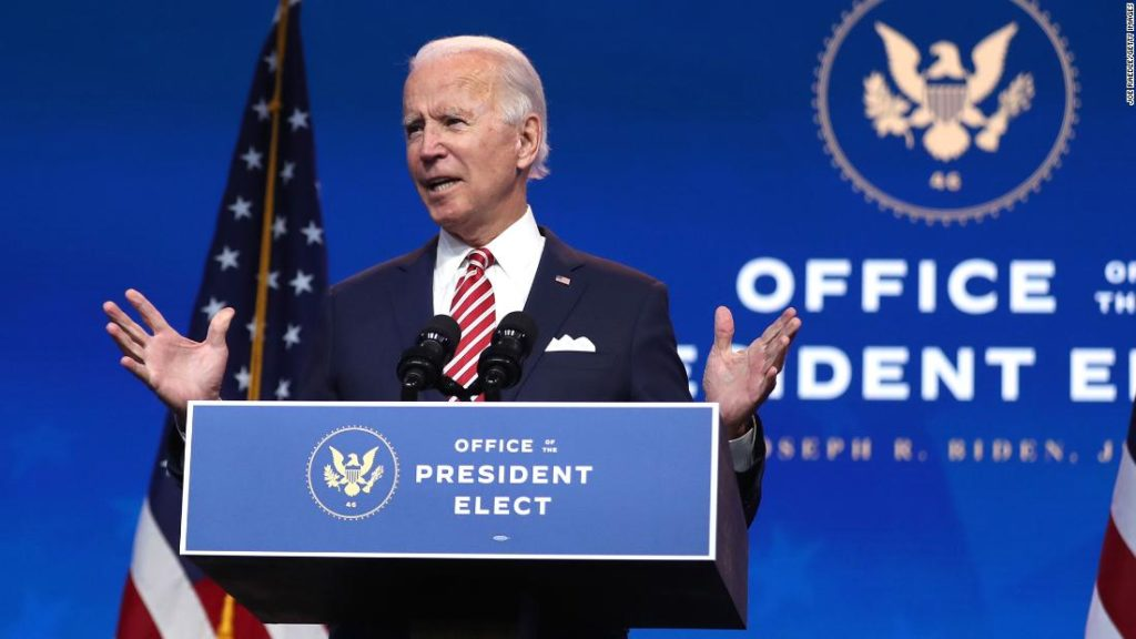 Biden says Trump 'will go down in history as being one of the most irresponsible presidents'