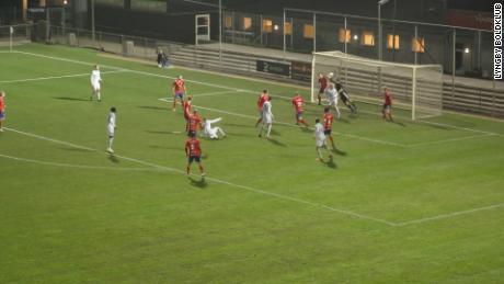 Defender scores 'miraculous' goal