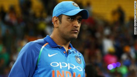 MS Dhoni during game five in the One Day International series between New Zealand and India at Westpac Stadium on February 3, 2019, in Wellington, New Zealand.