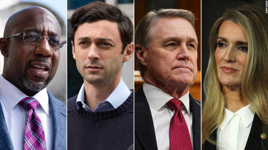 Georgia: All eyes are on state ahead of Senate debate
