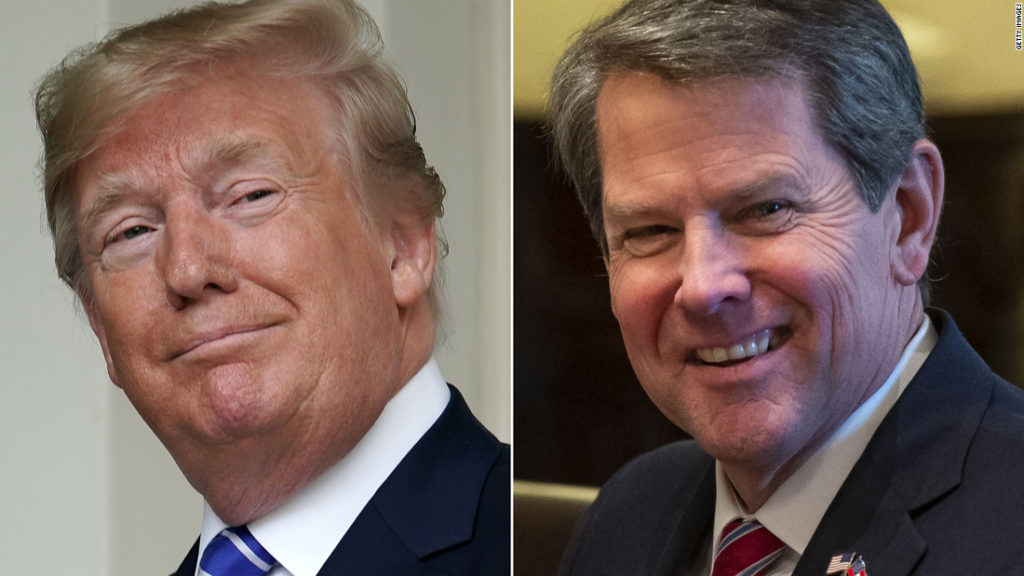 Trump pressured Georgia governor to help overturn the election in call