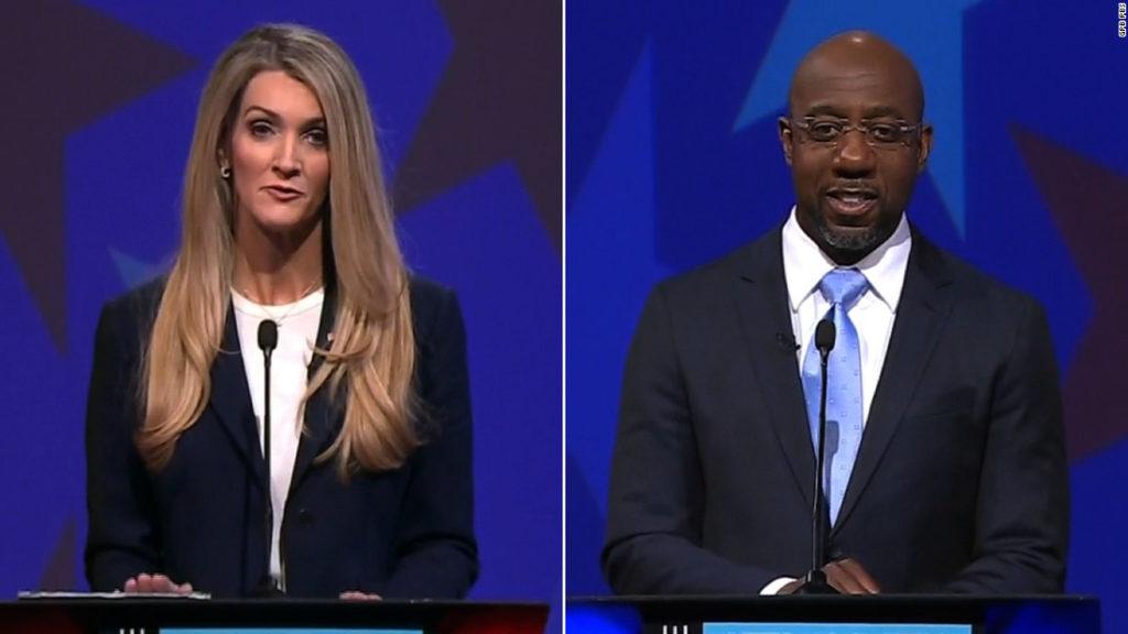 Georgia Senate debate: 4 takeaways from the Loeffler-Warnock event
