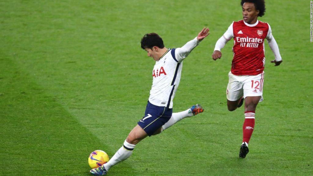 'World class' Son Heung-Min's wonder goal helps Tottenham return to top of Premier League