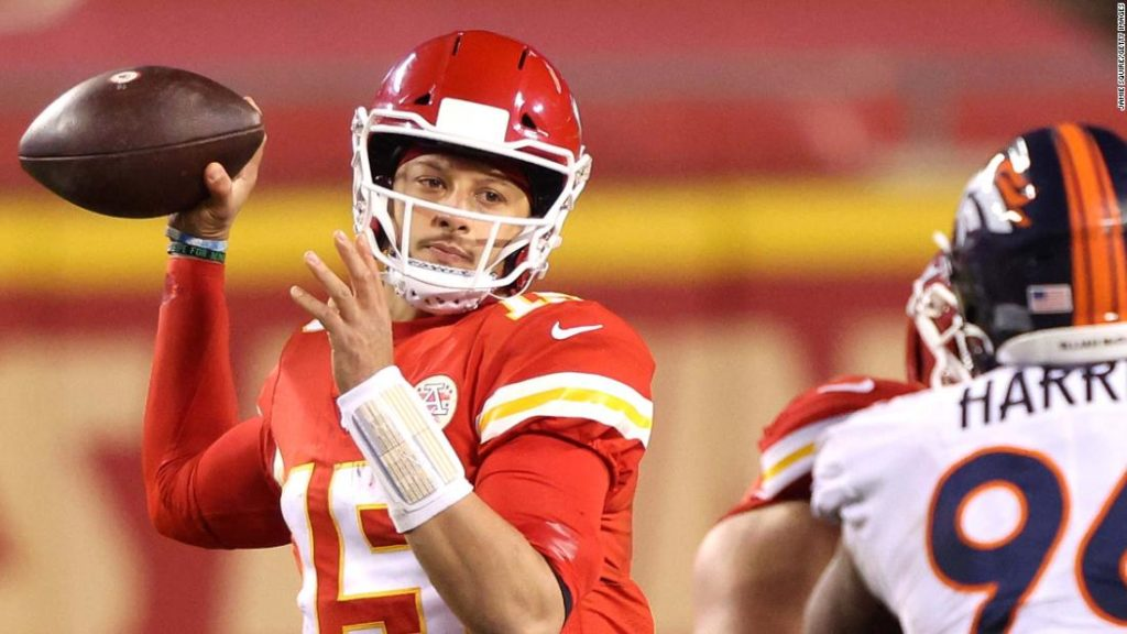 Patrick Mahomes: Kansas City Chiefs clinch playoff spot after grinding out victory over Denver Broncos