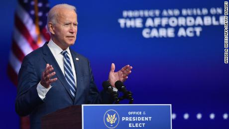 Biden on nominating diverse Cabinet: 'I'm going to keep my commitment'