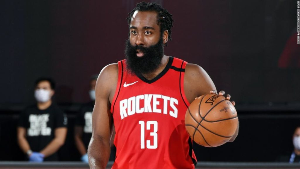 James Harden described as a 'holdout' by Houston Rockets coach Stephen Silas