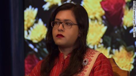 Swati Bidhan Baruah is one of India's first transgender judges.