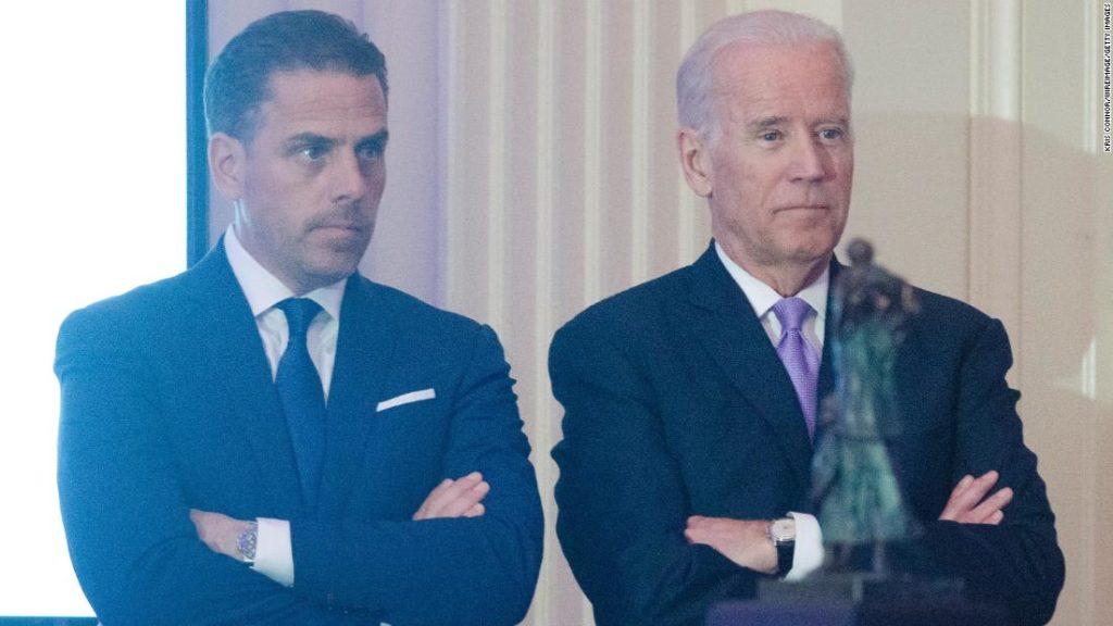 Hunter Biden says he's under tax investigation