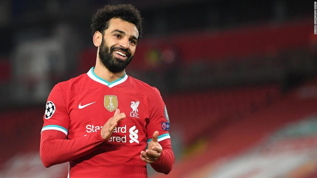 Mohamed Salah becomes Liverpool's all-time leading Champions League scorer